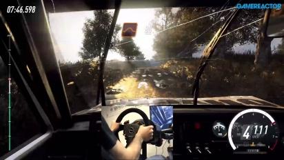 Dirt Rally 2.0 - Jogabilidade com volante e pedais