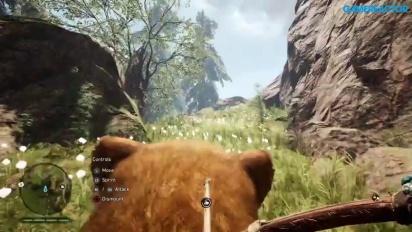 Far Cry Primal - Montar um Tigre dentes de sabre