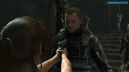 Rise of the Tomb Raider - Xbox One X em modo de maior detalhe