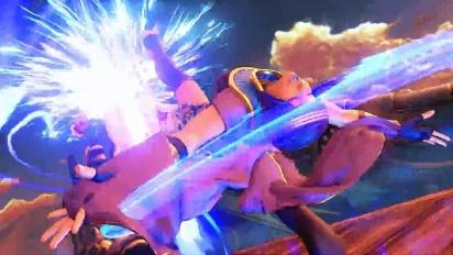 Street Fighter V - Menat Reveal Trailer