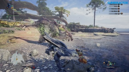 Monster Hunter World - Jogabilidade Gamescom