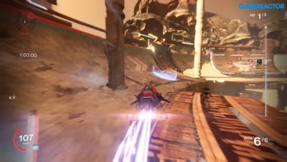 Destiny - Jogabilidade Sparrow Racing League