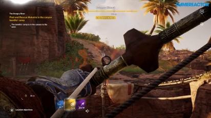 Assassin's Creed Origins - Incursão a campo inimigo
