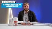 Xiaomi Mi Vacuum Cleaner G10 - Quick Look