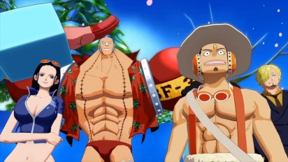 One Piece: Unlimited World Red - Trailer