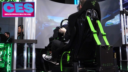 CES20 - Razer Eracing Simulator Interview
