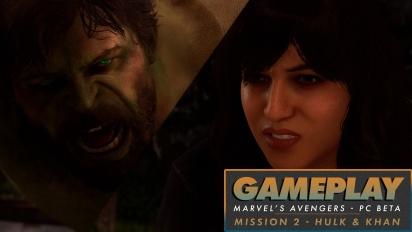 Marvel's Avengers - Hulk & Kamala Khan PC Beta Gameplay