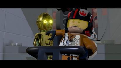Lego Star Wars: The Force Awakens - Trailer Poe Dameron