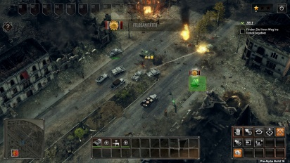 Sudden Strike 4 - Gameplay Battle for Stalingrad