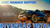 Ford Ranger Raptor X Forza Horizon 4: Mundo Real vs Mundo Virtual