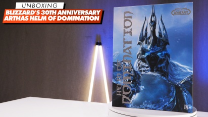 Blizzard 30th Anniversary: Arthas Helm - Unboxing