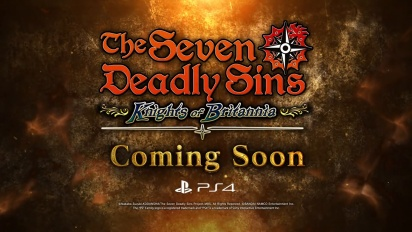 The Seven Deadly Sins: Knights of Britannia - PS4 - Announcement Trailer