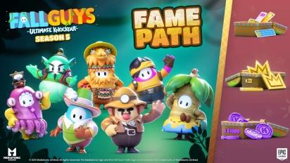 Fall Guys: Ultimate Knockout - Season 5 Fame Path Trailer