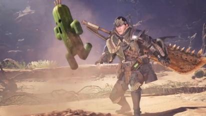 Monster Hunter: World - Final Fantasy XIV Collaboration Trailer