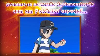 Pokémon Sun/Moon - Trailer português de novidades