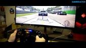 Project CARS 2 X HP OMEN X Fanatec Racing Wheel - Ultrawide Driving