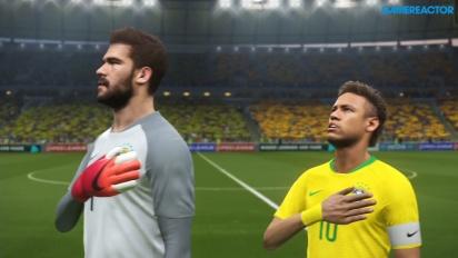 Pro Evolution Soccer 2018 - Data Pack 4.0: Brasil - Espanha