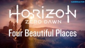Horizon: Zero Dawn - Four Beautiful Places