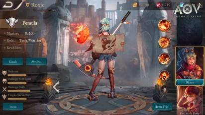 Arena of Valor - Roxie Hero Spotlight