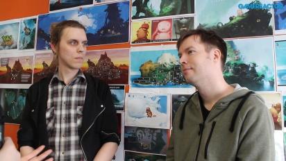Yoku's Island Express - Entrevista Jens Andersson & Linus Larsson