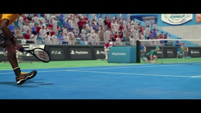 Tennis World Tour - PGW 2017 Reveal Trailer