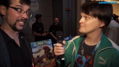 Adult Swim Games @ E3 2016 - Sean Baptiste Interview