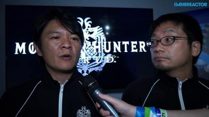 Monster Hunter: World - Entrevista Ryozo Tsujimoto e Kaname Fujioka
