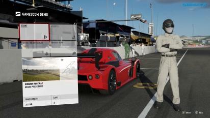 Forza Motorsport 7 - Corrida em Sonoma