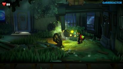 Luigi's Mansion 3 - Chainsaw Gameplay