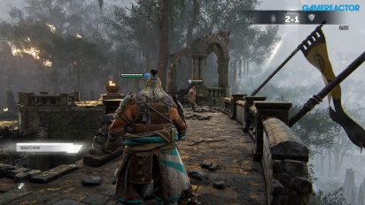 For Honor - Jogabilidade com Shugoki, Peacemaker, e Raider