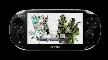 Metal Gear Solid HD Collection - PS Vita Release Trailer