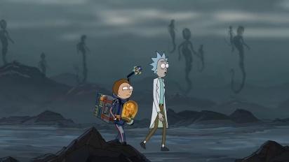 Death Stranding - Anúncio com Rick e Morty