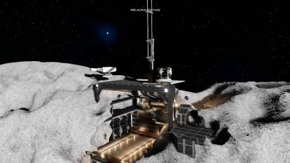 Dual Universe - Asteroid Base Building Pre-Alpha Footage