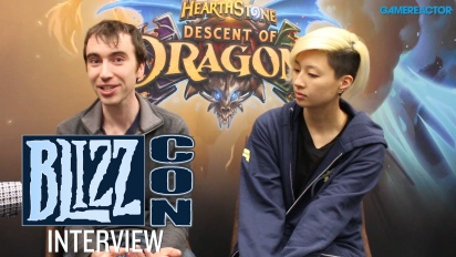 Hearthstone: Descent of Dragons - Entrevista BlizzCon