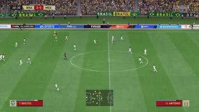 FIFA 22 Feminino - Brasil vs México