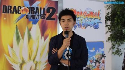 Dragon Ball Xenoverse 2 e Fusions - Entrevista Masayuki Hirano