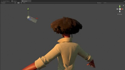 In the Valley of Gods - Zora Hair Backlighting Test