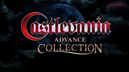 Castlevania Advance Collection - Reveal Trailer
