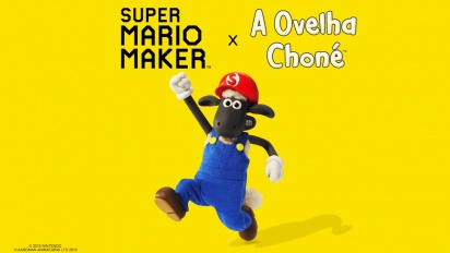 Super Mario Maker - Trailer da Ovelha Choné
