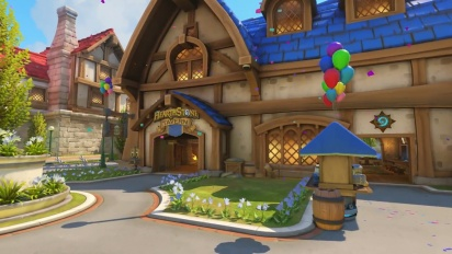 Overwatch - Blizzard World | New Hybrid Map