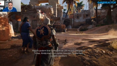 Livestream Replay - Assassin's Creed Origins: The Curse of the Pharaohs