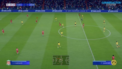 FIFA 20 - Liverpool vs. Dortmund Gameplay
