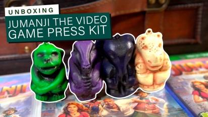 Jumanji: The Video Game - Unboxing do Press Kit