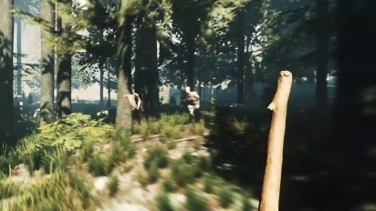 The Forest - PS4 Announcement Trailer