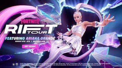 Fortnite - Rift Tour Featuring Ariana Grande Teaser Trailer