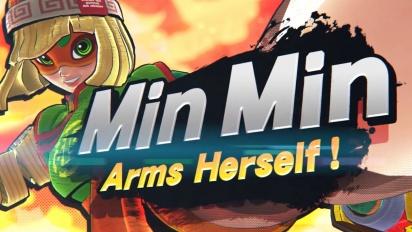 Super Smash Bros. Ultimate - Mr. Sakurai Presents 'Min Min'