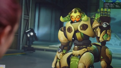 Overwatch - Orisa New Hero Preview