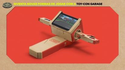 Nintendo Labo - Toy-Con Garage Trailer Português