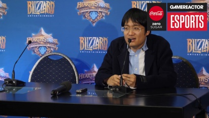 Hearthstone World Championship 2018 - JasonZhou Press Conference