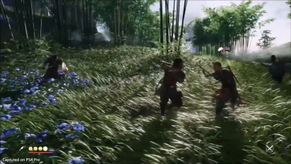 Ghost of Tsushima - Stance Swap Gameplay